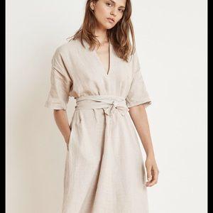 Winley Linen Midi Dress by Velvet